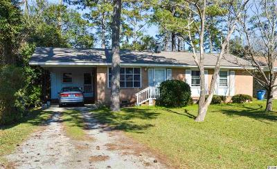 Myrtle Beach Single Family Home Active Under Contract: 510 33rd Ave. N