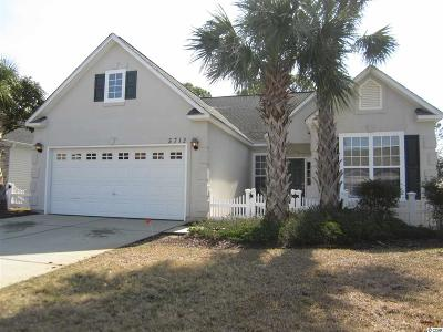 North Myrtle Beach Single Family Home For Sale: 5712 Coquina Point Dr.