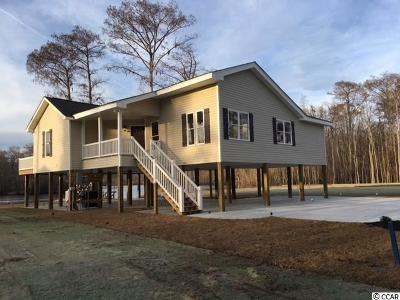 Georgetown County, Horry County Single Family Home For Sale: 400 S River Front Rd.