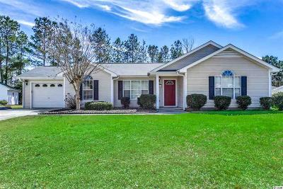 Georgetown County, Horry County Single Family Home Active Under Contract: 1111 Lancelot Ln.