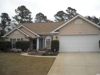 Conway Single Family Home For Sale: 323 Milledge Dr.