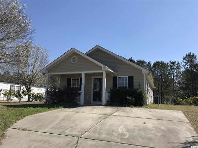 Horry County Single Family Home For Sale: 3850 Stern Dr.