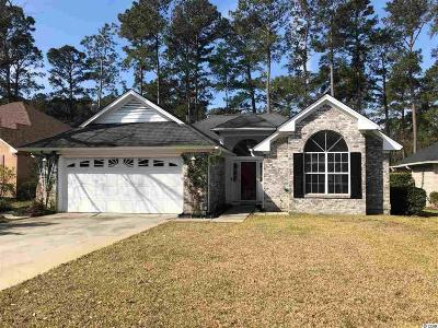 Georgetown County, Horry County Single Family Home For Sale: 3162 River Bluff Ln.