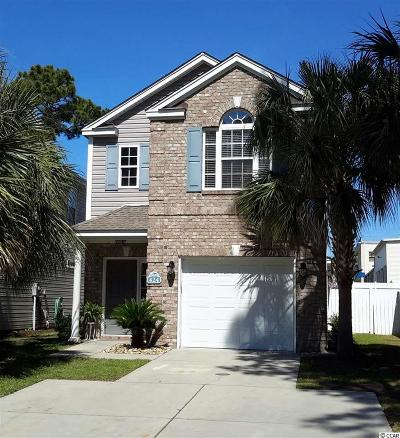 Surfside Beach Single Family Home For Sale: 424 South Poplar Dr.