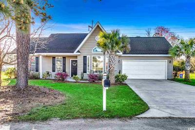 myrtle beach Single Family Home For Sale: 4870 Right End Ct.
