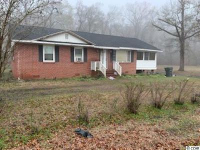 Conway SC Single Family Home For Sale: $65,000