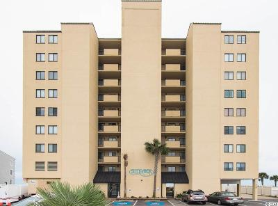 North Myrtle Beach Condo/Townhouse For Sale: 3513 S Ocean Blvd. #305
