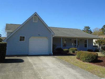 Murrells Inlet Single Family Home For Sale: 618 Blue Bird Ln.