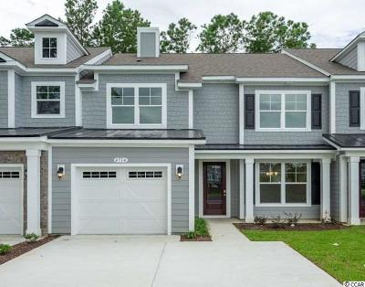 North Myrtle Beach Condo/Townhouse For Sale: 4714 Blackwater Circle #Lot 22