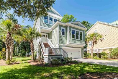 Pawleys Island Single Family Home For Sale: 55 Schooner Ct.