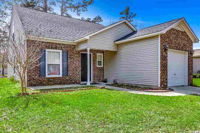 myrtle beach Single Family Home For Sale: 121 Bellegrove Dr.