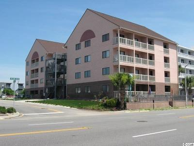 Myrtle Beach Condo/Townhouse For Sale: 2710 S S Ocean Blvd. #208
