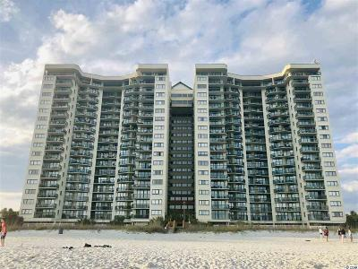 North Myrtle Beach Condo/Townhouse For Sale: 201 S Ocean Blvd. #1306