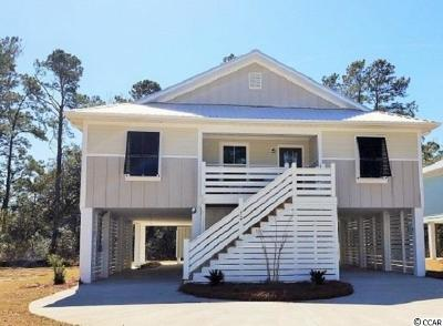 Pawleys Island Single Family Home For Sale: 72 Tidelands Trail