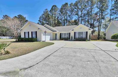 Myrtle Beach Single Family Home Active Under Contract: 536 Saint Charles Circle