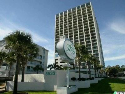 Myrtle Beach Condo/Townhouse For Sale: 5523 #804 Ocean Blvd. N #804