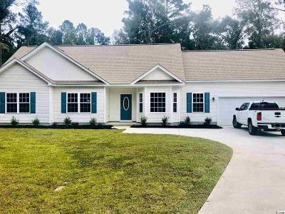 Loris Single Family Home For Sale: 2971 Red Bluff Rd.