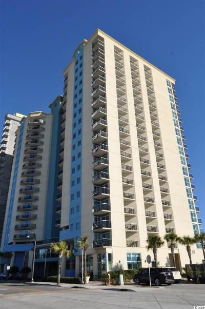 Myrtle Beach Condo/Townhouse For Sale: 504 N Ocean Blvd. #1611
