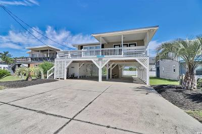 North Myrtle Beach Single Family Home For Sale: 5605 N Ocean Blvd.