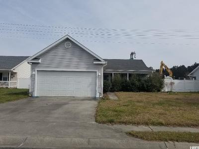 Murrells Inlet Single Family Home Active Under Contract: 9545 Sullivan Dr.