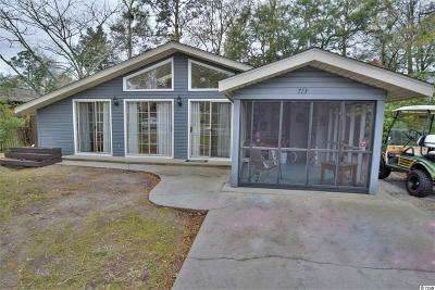 Surfside Beach Single Family Home For Sale: 713 Maple Dr.