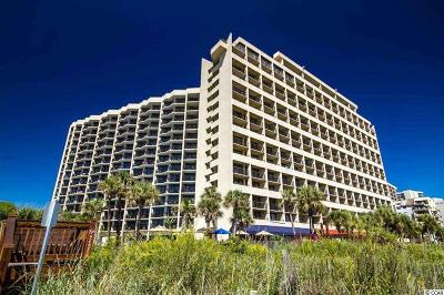 Myrtle Beach Condo/Townhouse For Sale: 7100 N Ocean Blvd. #803