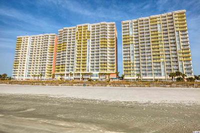 North Myrtle Beach Condo/Townhouse For Sale: 2801 S Ocean Blvd. #834