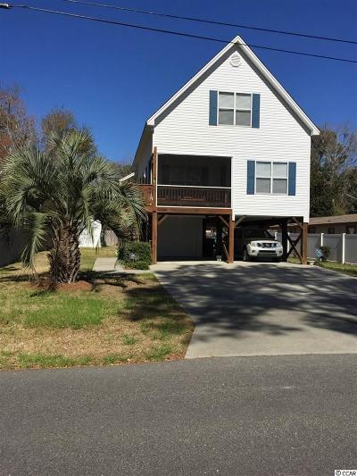 Surfside Beach Single Family Home For Sale: 218 South Myrtle Dr.