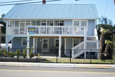 North Myrtle Beach Single Family Home For Sale: 1416 S Ocean Blvd.