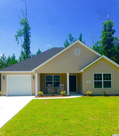 Loris Single Family Home For Sale: 1218 Hardee Ave.