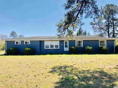 Loris Single Family Home Active Under Contract: 718 Camp Swamp Rd.