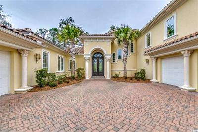 Myrtle Beach SC Single Family Home For Sale: $1,298,000