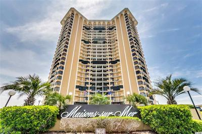 Myrtle Beach Condo/Townhouse For Sale: 9650 Shore Dr. #809