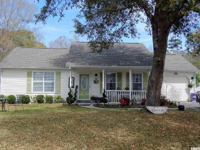Murrells Inlet Single Family Home For Sale: 1608 Wood Thrush Dr.