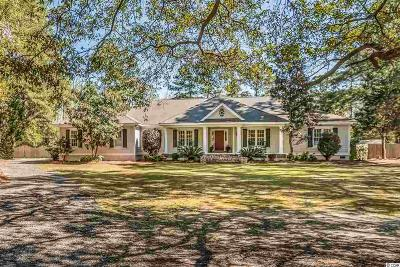 Pawleys Island Single Family Home For Sale: 125 Post Office Ln.