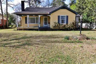Conway Single Family Home For Sale: 1705 McDermott St.