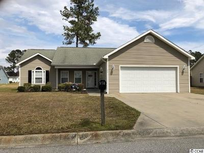 Longs Single Family Home Active Under Contract: 974 Bellflower Dr.