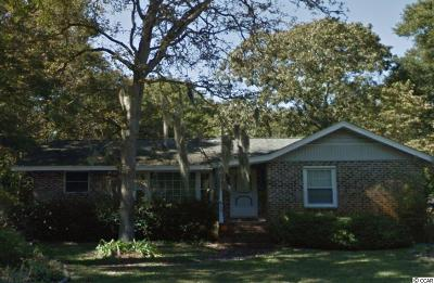 Surfside Beach Single Family Home Active Under Contract: 612 Hollywood Dr. N