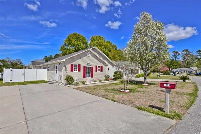 Murrells Inlet Single Family Home Active Under Contract: 1021 Autumn Dr.
