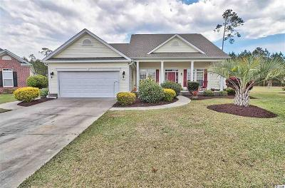 Murrells Inlet Single Family Home Active Under Contract: 760 Woodstone Ct.