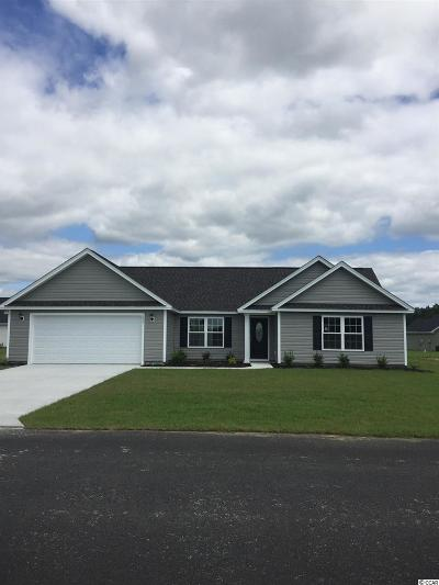 Loris Single Family Home For Sale: 190 N Cox Rd.