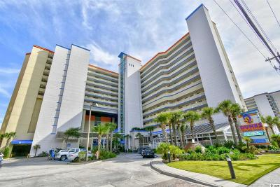 Myrtle Beach Condo/Townhouse For Sale: 5200 N Ocean Blvd. #106