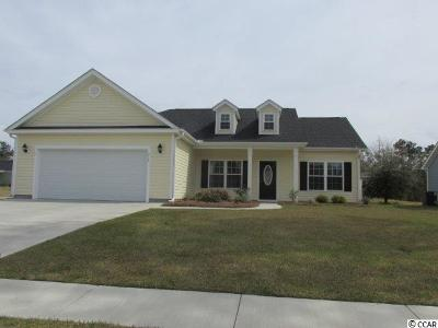 Loris Single Family Home Active Under Contract: 215 Dempsey Dr.