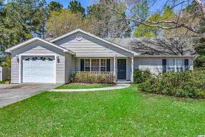 Conway Single Family Home Active Under Contract: 1066 Courtyard Dr.