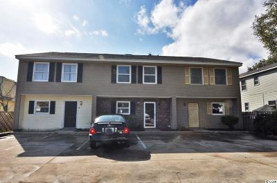 Surfside Beach Condo/Townhouse Active Under Contract: 315 3rd Ave. S #A
