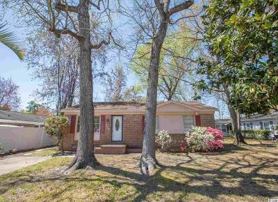 Surfside Beach Single Family Home Active Under Contract: 717 Cypress Dr.