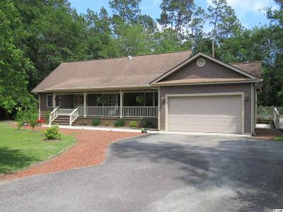 Loris Single Family Home For Sale: 556 Long Leaf Dr.