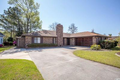 Surfside Beach Single Family Home Active Under Contract: 1020 Plantation Dr.