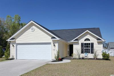Murrells Inlet Single Family Home For Sale: 186 Woodland Park Loop