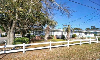 North Myrtle Beach Single Family Home For Sale: 508 26th Ave. S